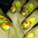 my fall nails