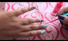 Ikat Nails Tutorial