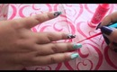 Ikat Nails Tutorial