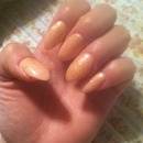 Bad picture, but I promise they look beautiful in person :)