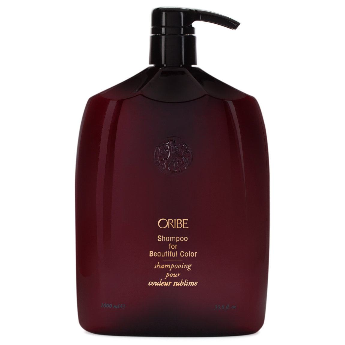 Oribe Shampoo for Beautiful Color 1 L product swatch.
