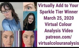 Virtual Colour Analysis Video From Our New Page: What Palette Will Kirsten Be? I Hope You Join Us!
