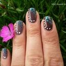 Ombre nails & dots