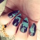 Graveyard Scene Nails