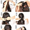 Cute Braided Half-Updo Tutorial Video | Curly Long Hairstyles