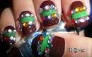 Easy Glamorous Elegant Lady Nails / Diseño de uñas Elegante