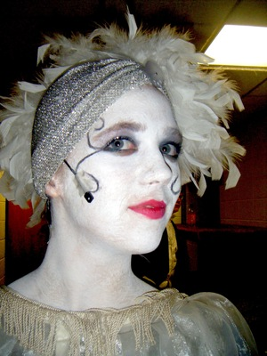 school play I did the makeup for! sosos much fun :D