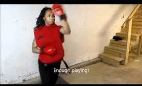 Goju Ryu Karate Workout Routine Highlights: Theresa Thoulouis