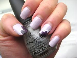 purple fairy clouds nails