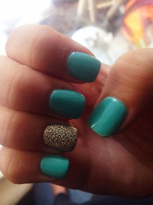 Love my nails right now!