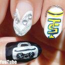 Taylor Swift - Shake it Off! Inspired Nail Art