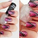Glitter purple nails :* :)