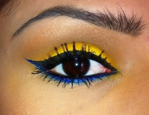 Colorful Winged Eye