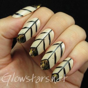 Read the blog post at http://glowstars.net/lacquer-obsession/2015/01/snake-skin-chevrons/