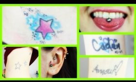 ♥ Piercings & Tattoos ♥ My Experiences