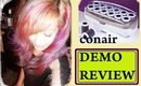 conair hot rollers review demo