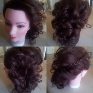 Hairstyle by me :)