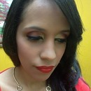 makeup gold and rose