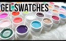 36 UV GEL SWATCHES & REVIEW