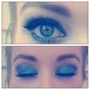 peacock eyes...