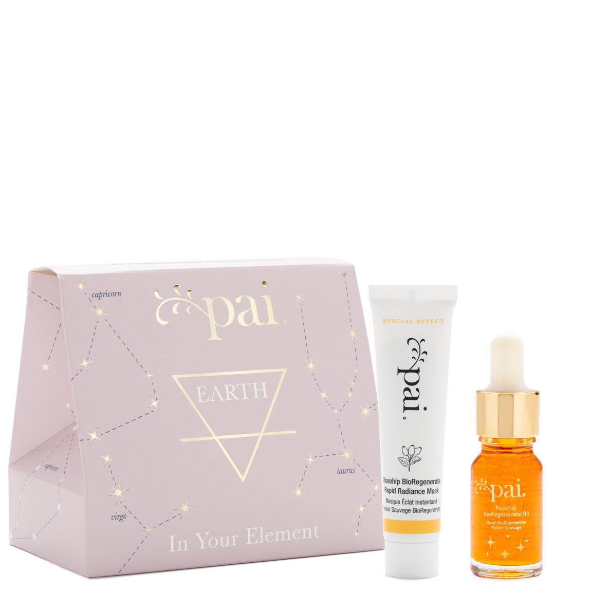 Pai Skincare In Your Element Gift Set Earth product smear.