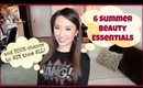 My 6 Summer Beauty Essentials + YOUR Chance to WIN them all! - hollyannaeree