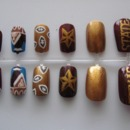 Texas State University Nails