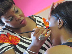 I love being a makeup artist its not a job-its playing all day!