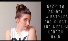 Easy Back to School Hairstyles for Short Hair