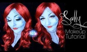 Sally Nightmare Before Christmas Makeup Tutorial - 31 Days of Halloween