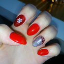 Holiday nails :)