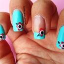 Peppermint manicure 2