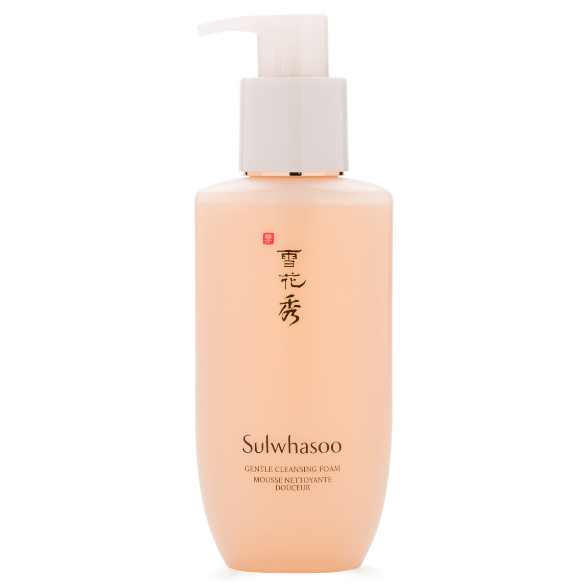 Sulwhasoo Gentle Cleansing Foam product swatch.