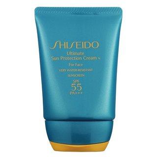 Shiseido Ultimate Sun Protection Cream For Face SPF 55 Travel Size