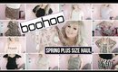 Boohoo Plus Size Spring Try On Haul   2019