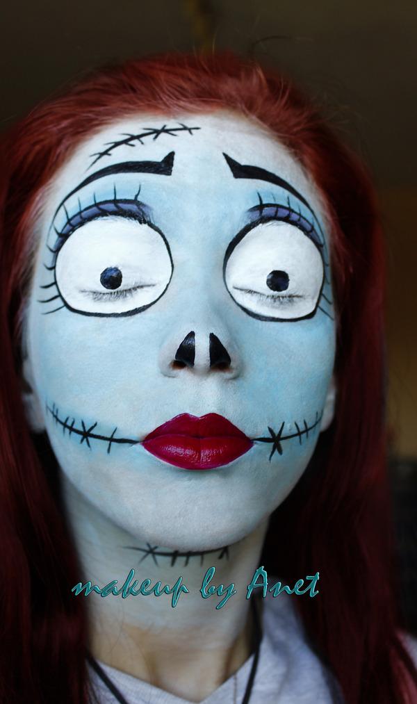 Good Eye Makeup: Nightmare Before Christmas - Sally
