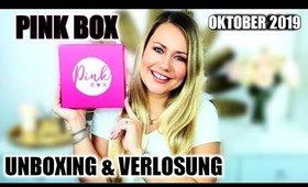 Pink Box Oktober 2019   UNBOXING & VERLOSUNG