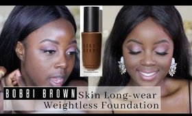 BOBBI BROWN Skin Long-wear Weightless Foundation FIRST IMPRESSION