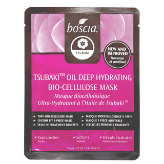 boscia Tsubaki Oil Deep Hydrating Bio-Cellulose Mask