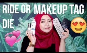 RIDE OR DIE MAKEUP TAG | HAZIMAH SYAHINDAH