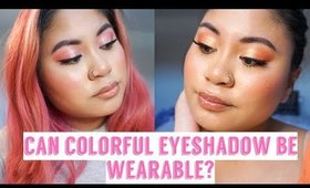 How To Make Colorful Eyeshadow Wearable | Victoria Briana