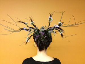 "My entry for the ""Elements of Style"" competition at my cosmetology school (Aveda Institute Jacksonville)"