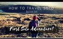 How to TRAVEL SOLO and book your first solo ADVENTURE!