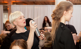 New York Fashion Week, Fall 2011: Aveda at Organic by John Patrick