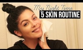 5 MIN NIGHT TIME SKIN ROUTINE : DOUBLE CLEANSING METHOD