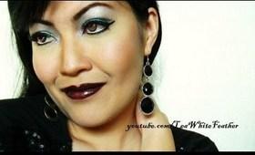 1970s-Inspired Glitter Disco Makeup Tutorial