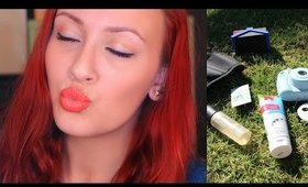 Spring Essentials + Waterproof Makeup
