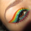 Gay Pride Rainbow Inspired Eyes