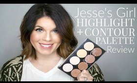 Jesse's Girl Highlight + Contour Palette Review | @girlythingsby_e