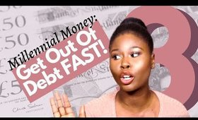 3 Practical WAYS To Get Out Of DEBT FAST UK  + FREE GUIDE  | WandesWorld